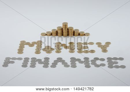 Step Pile Of Gold Coins