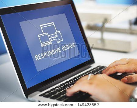 Responsive Design Innovation Computer Concept