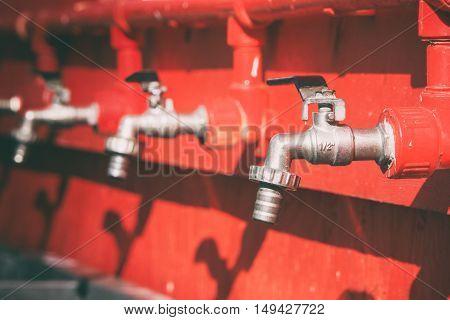 red shifter crane, crane plumbing,red battery faucet
