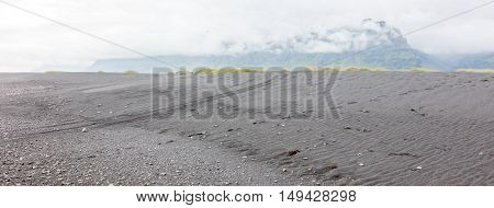 Black Beach In South Iceland