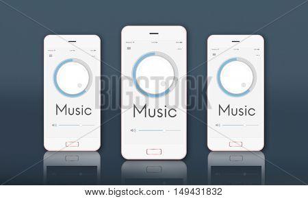 Button Volume Audio Music Sound Graphic Concept