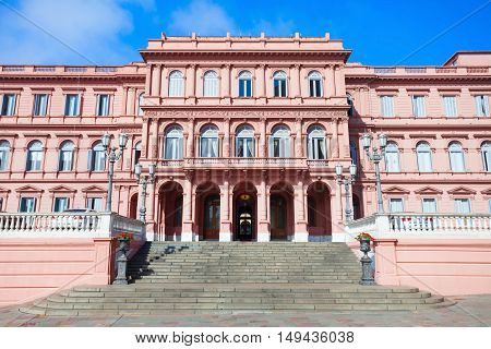 Casa Rosada Pink House