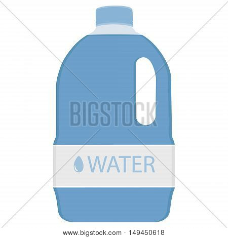 Big bottle water bottle water gallon drinking water bottle water isolated