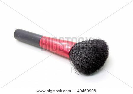 Women Makeup Brush isolated on white background