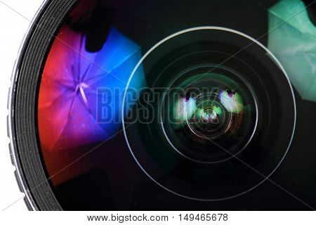Lens Of Photo Camera (objective)