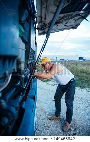 Fixing A Truck