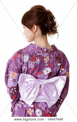 Japanese Elegant Woman