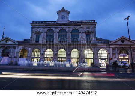 Station Gare Lille Flandres in Lille. Lille Nord-Pas-de-Calais France
