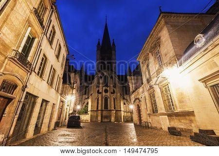 Church of Notre-Dame of Dijon. Dijon Burgundy France