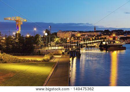 Island of Nantes. Nantes Pays de la Loire France