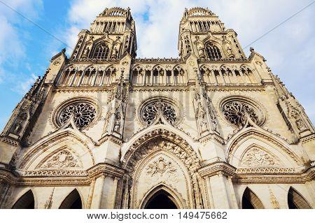 Cathedral Sainte-Croix in Orleans. Orleans Pays de la Loire France