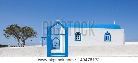 Small church in Kos island Greece, Europe