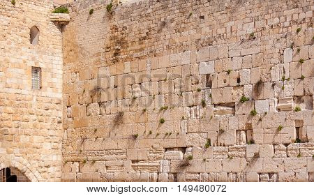 Western Wall Of Temple, Jerusalem