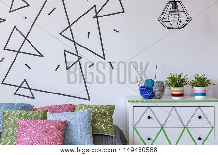 Unique Decoration In Bedroom Interior