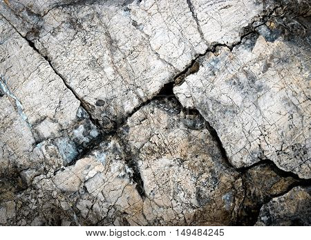 abstract background or texture detail limestone rock with quartz veins