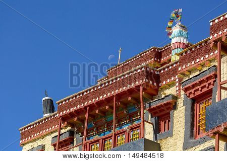 Ancient place of worship in Leh LadakhJammu and Kashmir India.
