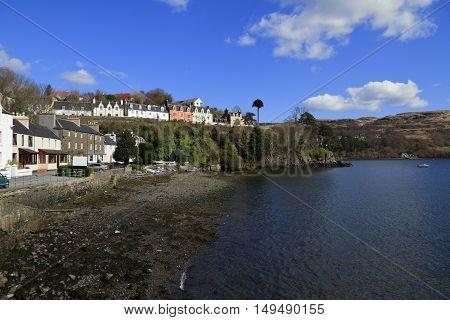 Portree Harbor, Scotland