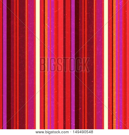 Vertical Red, White, Pink Stripes Pattern, Seamless Texture Background. Ideal For Printing Onto Fabr