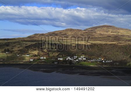 Beautiful Idrigil Harbor Isle of Skye Scotland