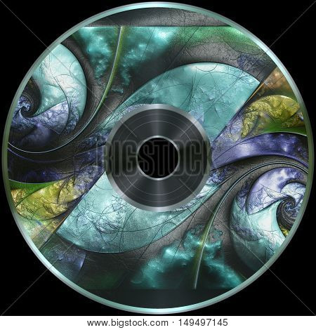 Premade Digital Media Disc Render