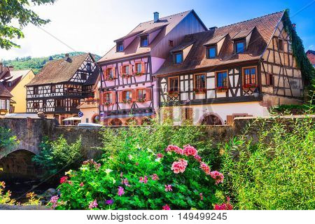 Kaysersberg- one of the most beautiful villages of France , Alsace