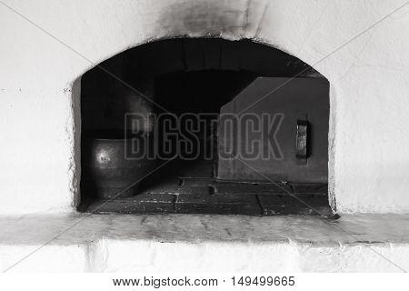 White Russian Stove Burner
