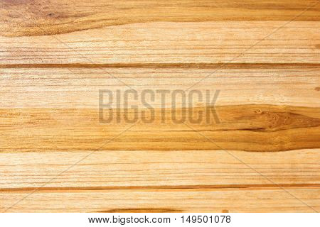 Brown wooden background of table, horizontal layer, top view