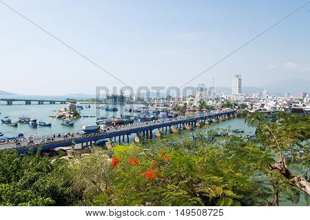 View of the city of Nha Trang, Vietnam