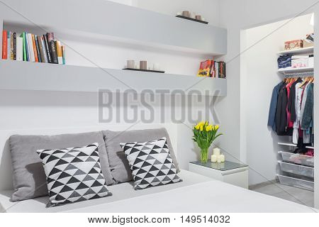 Trendy Mix Of Grey And White