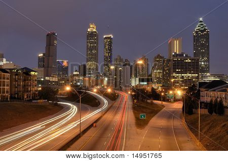 Skyline Of Atlanta Georgia