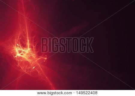 purple glow energy wave. lighting effect abstract background.