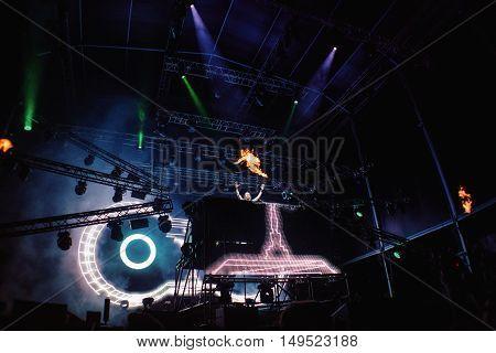 David Guetta Performing Live at Festival MEO Marés Vivas 19.07.2013 Porto - Portugal