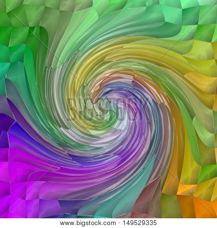 Abstract coloring background of the pastels background with visual wave,pinch,twirl,mosaic and plastic wrap effects.Good for your project design