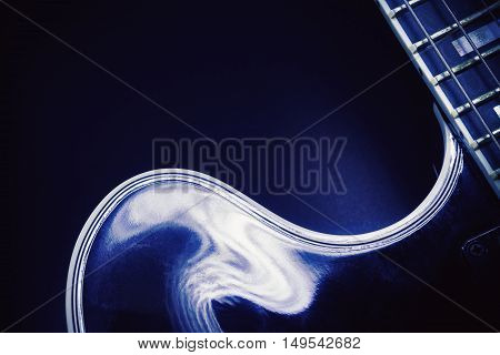 Shapes Of An Electric Guitar
