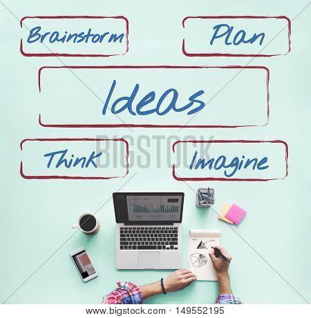 Ideas Be Creative Fresh Inspire Concept