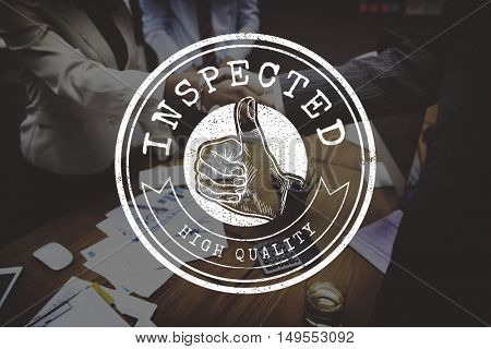 High Quality Guarantee Badge Logo Premium Concept