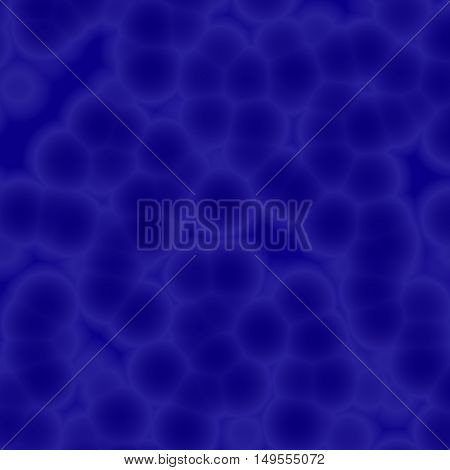 Abstract Blue Cellular Texture Background 3D Illustration