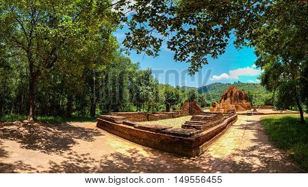 Panorama of My Son Sanctuary - Quang Nam
