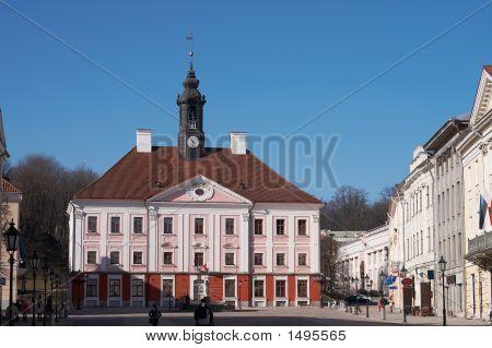 Townhall In Tartu