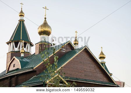 The Church of the Orthodox Parish of the Mother of God icon All the afflicted. The Orthodox Church