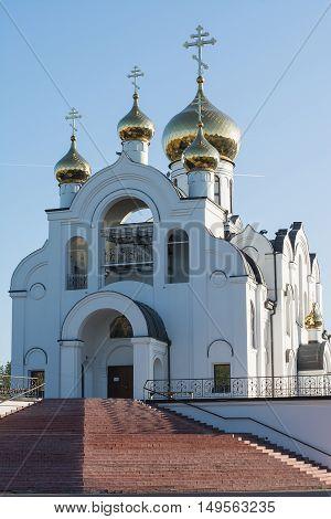 Church Of The Holy Trinity. The Orthodox Church
