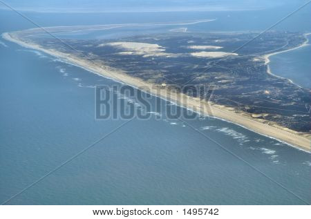 Air View Of The Island Sylt