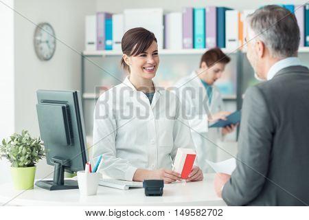 Man At The Pharmacy
