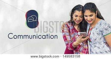 Chat Bubble Speech Cloud Message Graphic Concept