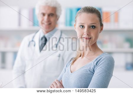 Patient In The Doctor's Office