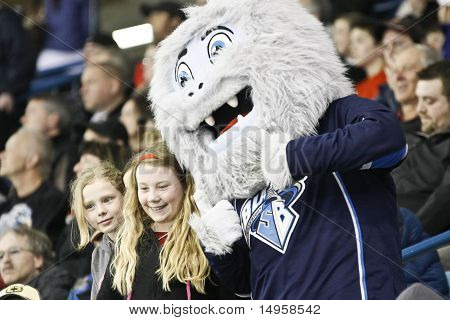 Mascot For The Saskatoon Blades Hockey Team