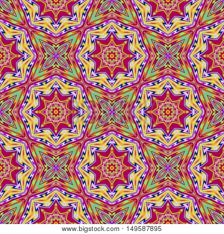 Seamless vector pattern. Geometric background, vector illustration Vector seamless pattern tribal ethnic ornament, abstract geometric background illustration