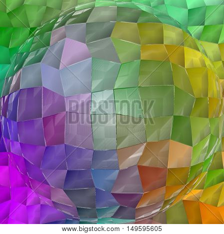 Abstract coloring background of the pastels gradient with visual lighting,wave,spherize and plastic wrap effects.Good for your project design