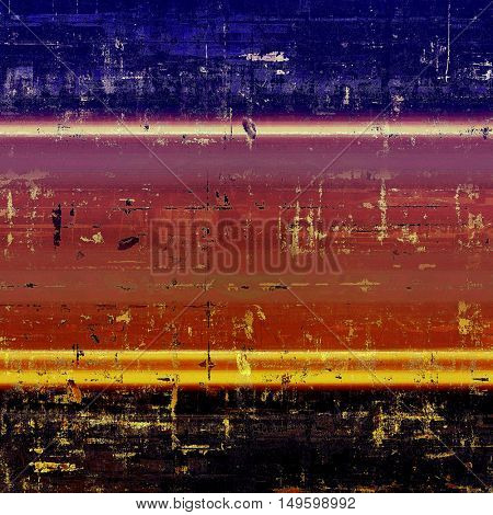 Art grunge background, vintage style textured frame. With different color patterns: yellow (beige); brown; blue; red (orange); purple (violet); black