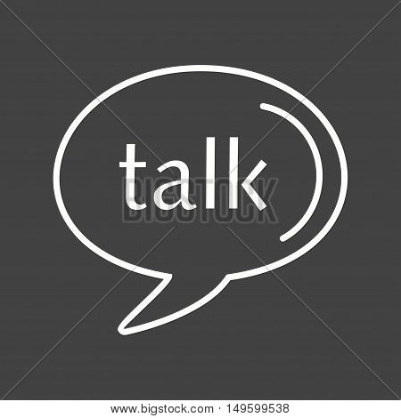 Google Talk, logo, media icon vector image. Can also be used for social media logos. Suitable for mobile apps, web apps and print media.